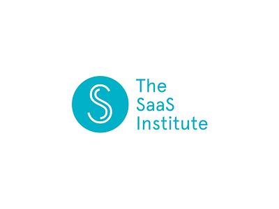 The SaaS Institute Logo monogram apercu institute colours branding logo saas