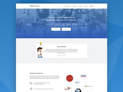 Colinked Marketing Website