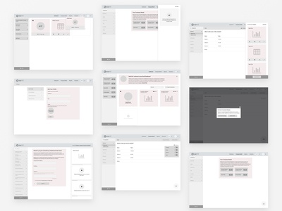 Eamli Wireframe Process Examples