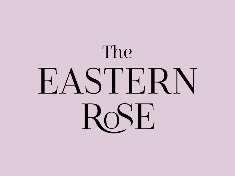 The Eastern Rose identitydesign branding vector logo design graphic design