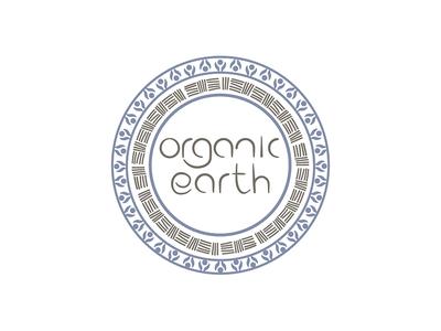 Organic Earth graphic design identity branding logo design