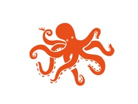 Octopus design for Logo