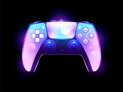 ps5 controller fantasy space controller gamepad ps