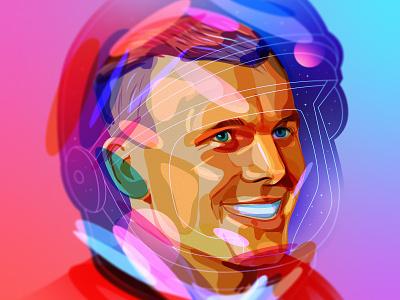 YuriGagarin cosmonaut cosmos gagarin space