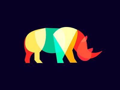 Rhino dark colors overlay rhino