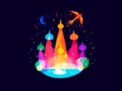Russian Fairy Tale color overlays tale fairy russian