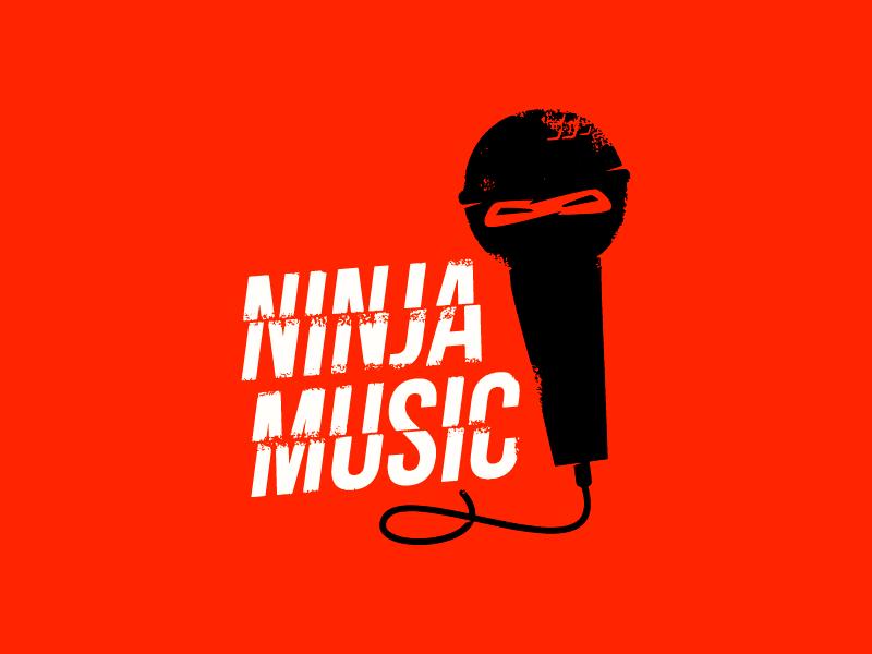 Ninja Music by Ilya Shapko on Dribbble