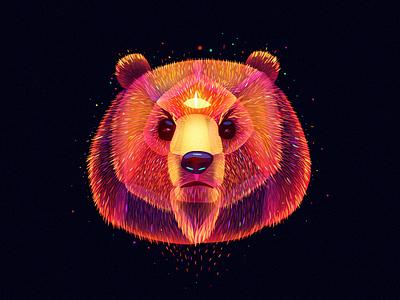 Fairytale Bear taiga siberia tale fairy light fantasy bear
