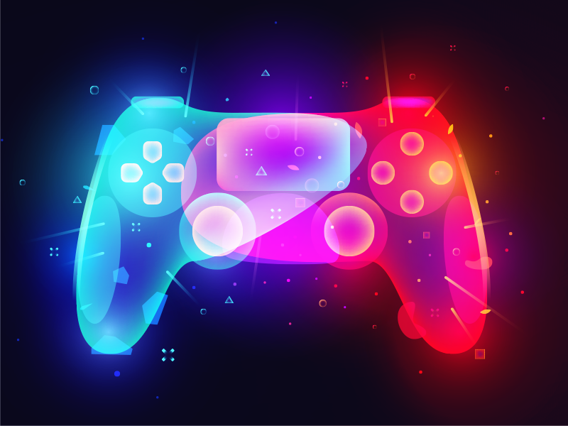 Gamepad ps illustration gamepad