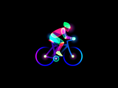 Aura Bicycle bicycle illustration aura