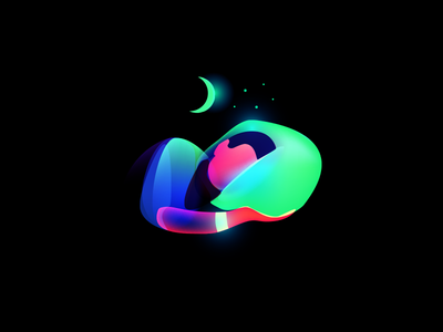 Aura Sleep sleep illustration aura