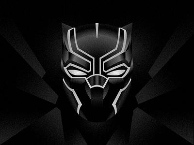 Black Panther marvel illustration panther black