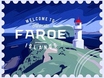 Faroe Islands2 fantastic stamp mark islands faroe