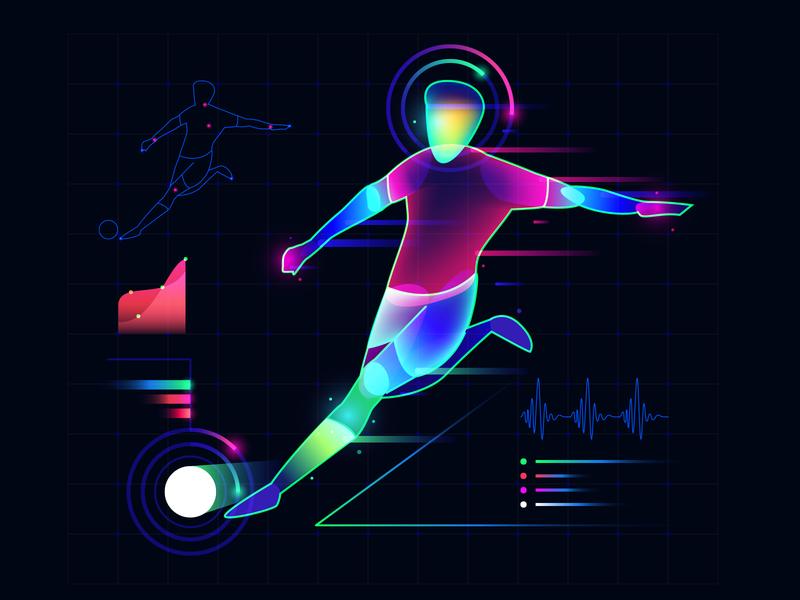 Player1 graph data fieldvision player football soccer