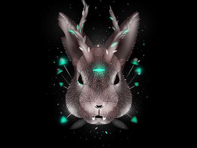 Dark Rabbit nightmare darkness rabbit