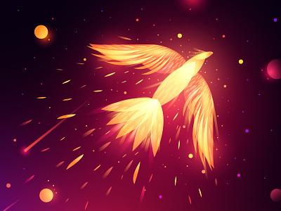 Russian Fairytales-2 firebird zhar-ptica fairytale