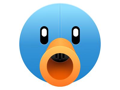 Tweetbot - Sketch Practice design icon practice twitter sketch tweetbot