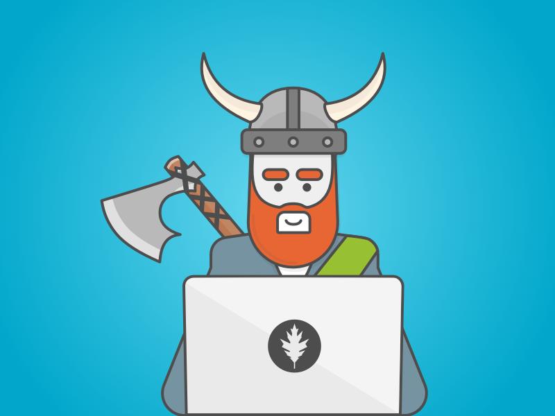 Viking victory macbook axe viking developer larping larper