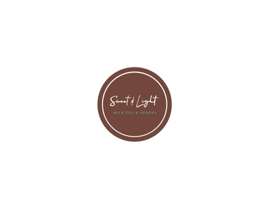 Sweet & Light Logo illustrator icon vector logo illustration graphic design design branding