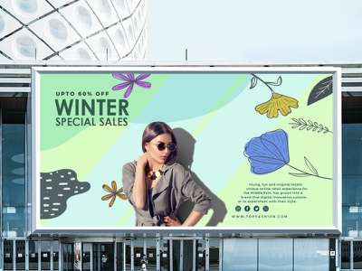 Winter Collection Mockup illustrator logo illustration graphic design design branding