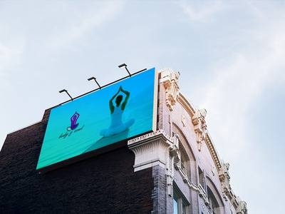 Yuga Billboard Mockup illustrator illustration design graphic design branding