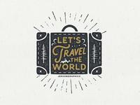 Let's Travel The World Artwork
