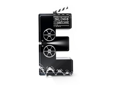 Motion E 3d type typography e text cinema4d model