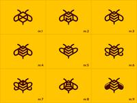 BeeMarketing (logo variations)