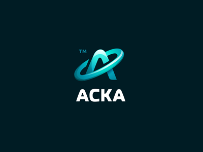 ACKA letter icon logo bubble solid global tax medic law connect connecting acka