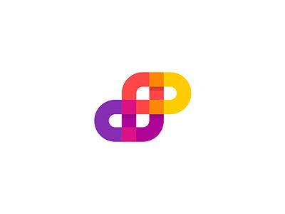 Letter S - Spair activity community connect 7gone modern symbol pixels design icon logo letter s spair