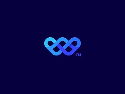 Webographen 7gone icon logo letter knot wire developer uiux design graphic web webographen