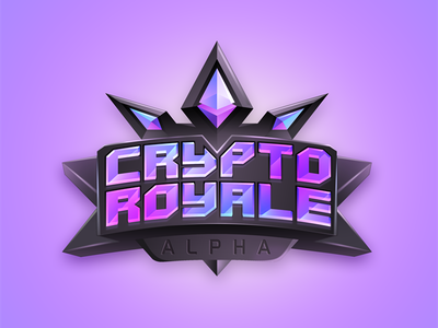 CryptoRoyale 7gone logo game gambling king crown money bitcoin etherium cryptoroyale royale crypto