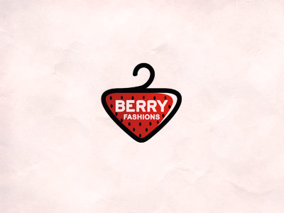 Berry fashions berry strawberry suspension 7gone fashion fashions clothe clothes wear venture red tag tab logo icon typography symbol sign