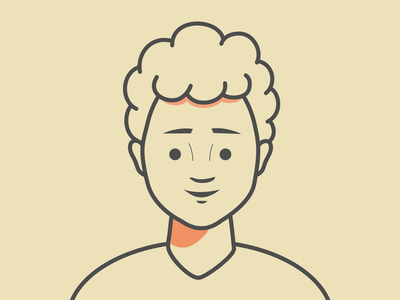 Character Design #3 - Line Style outline human avatar people clean character line simple illustration design