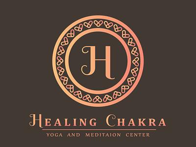 Yoga and meditation brand - logo concept modern health colorful meditation yoga abstract branding monorgram decorative logo design