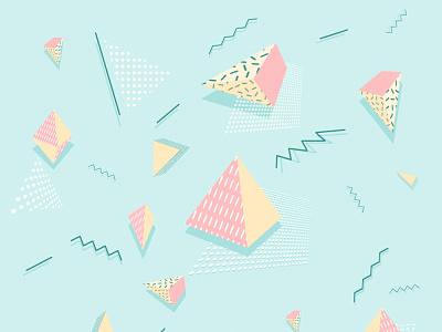 Memphis triangle memphis triangle memphis triangle мемфис дизайн memphis style memphis minimal illustration design
