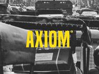 Axiom Brand Concept