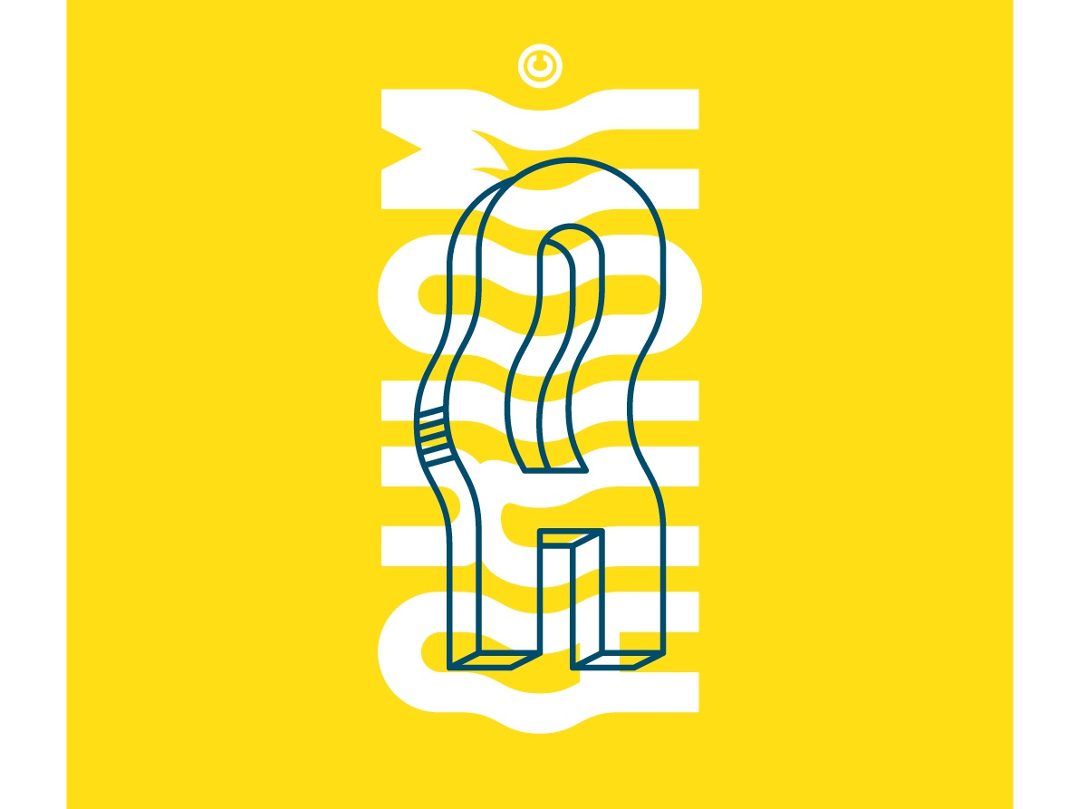 Waaavvy. illustration typography branding vector hello design