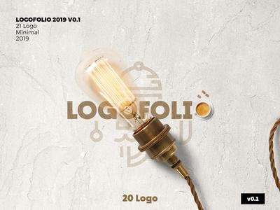 Logofolio V 0.1 logo design concept logo concept minimal vector illustration design logodesign branding logofolio behancereviews logo behance