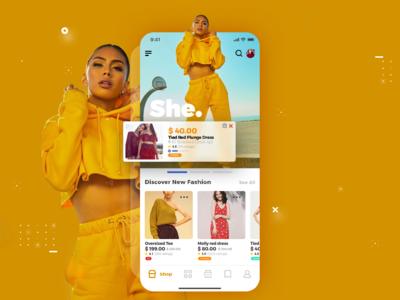 E commerce Ui App - She