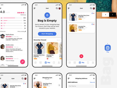 E commerce Ui App - She - soon💖