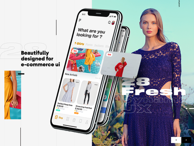 E commerce Ui App - She - soon💖⚡️