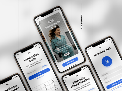 E commerce Ui App - iphone Xs💖⚡️
