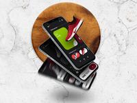 Nike store UI/UX - Freebie🚀