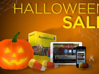 Rosetta Stone | Halloween Sale (Pumpkin)