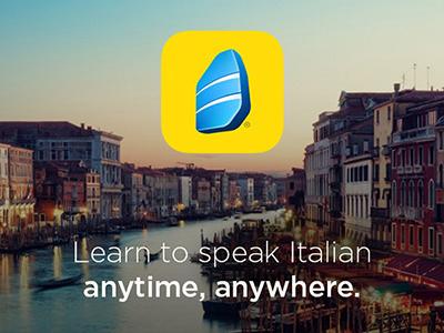 Rosetta Stone | Travel App Offer