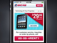 Mobile Web for Rent One
