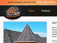 Roofing Website Redesign