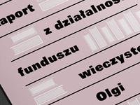 Olga Rok's Fund / Annual Report