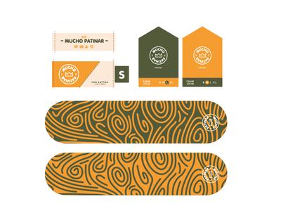 Skateboard Branding